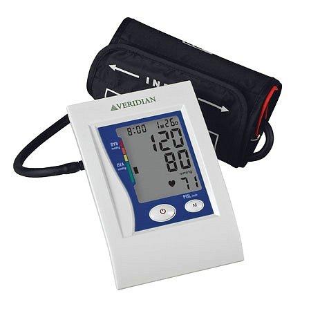 Veridian Healthcare Automatic Premium Digital Blood Pressure Arm Monitor Large - 3PC