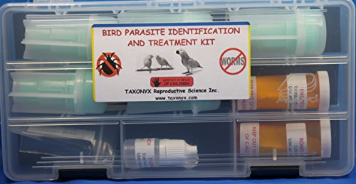 Bird Parasite Identification and Treatment Kit by Taxonyx Science Inc