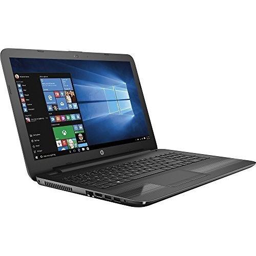 2017 HP 15.6 inch High Performance Premium HD Laptop, Quad-Core AMD A6-7310 2GHz, 4GB RAM, 500GB HDD, AMD Radeon R4, Wifi, DVD+/-RW, HDMI, Webcam, Windows 10- Black