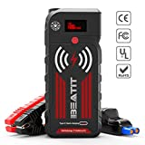 BEATIT G18 2000Amp Peak 12V Portable Car Jump Starter (Up to 8.0L Gas and Diesel) 21000mAh Portable...