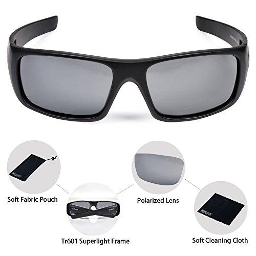 1f93644436 Duduma Tr601 Polarized Sports Sunglasses for Baseball Cycling Fishing Golf  Superlight Frame
