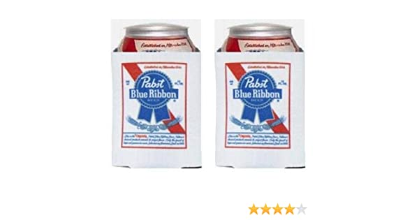 Pabst Blue Ribbon PBR Beer Bottle or Can Koozie 12oz BRAND NEW