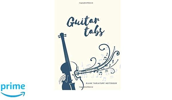 Guitar Tabs: Blank Tablature Notebook: Amazon.es: VeRB.: Libros en ...