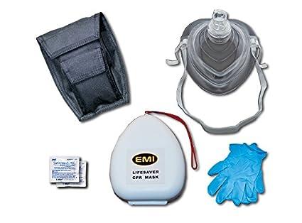 Amazon.com: Emi salvavidas CPR máscara Kit Plus: Industrial ...