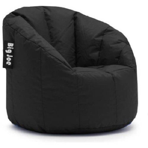 Big Joe Milano Bean Bag Chair Multiple Colors, Provides Ultimate Comfort,  Great for Any Room (Limo Black) - Kids' Bean Bags Amazon.com