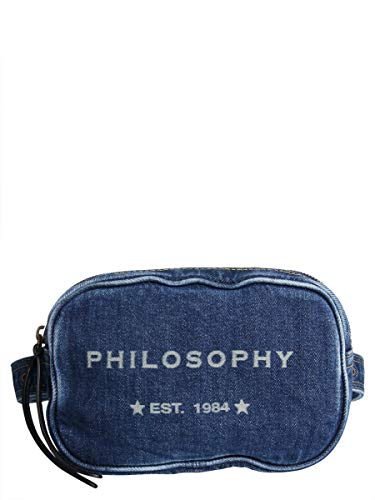 310507790300 Philosophy Denim Azul Bolso Mujer Hombro De TTq5x0w