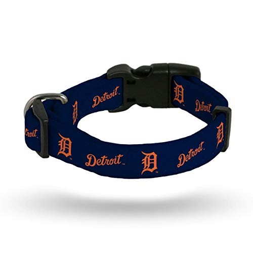 Rico Industries MLB Detroit Tigers Pet Collar, Medium, Team Color