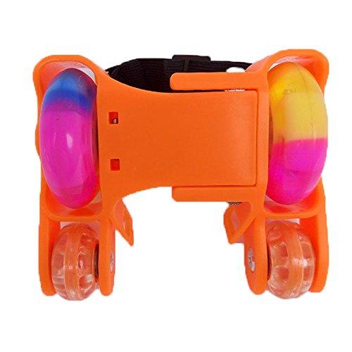 U.Buy - Zapatillas de skateboarding de Caucho para niño naranja