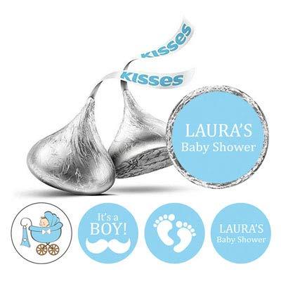 Amazon com : Darling Souvenir 190 Pcs Baby Boy Shower Custom