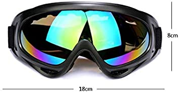 Unisex UVA//UVB Protective Safety Glasses,Anti-Fog Outdoor Goggles,Scratch Proof Motorcycle Goggles,Windproof Sand Tactical Equipment,Ski Glasses
