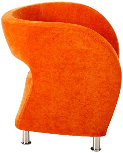 Christopher Knight Home 258647 Salazar Modern Design Accent Chair, Orange - 3
