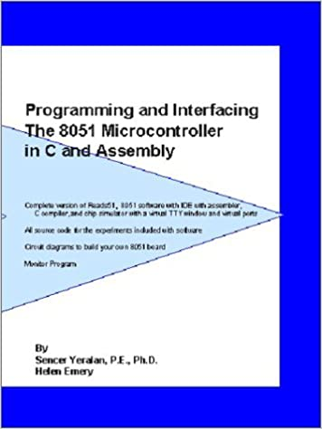 Programming and Interfacing the 8051 Microcontroller in C