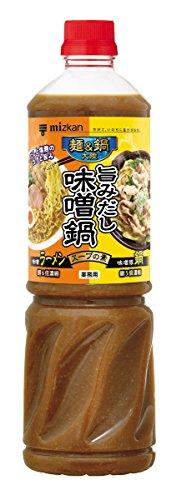 ミツカン 麺&鍋大陸 旨みだし味噌鍋スープの素 1140gの商品画像