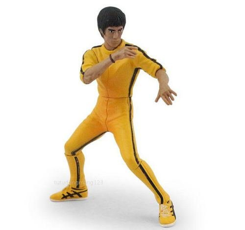 """4"""" Kung Fu action figure toy Game of Dead Flexible Tiger"""