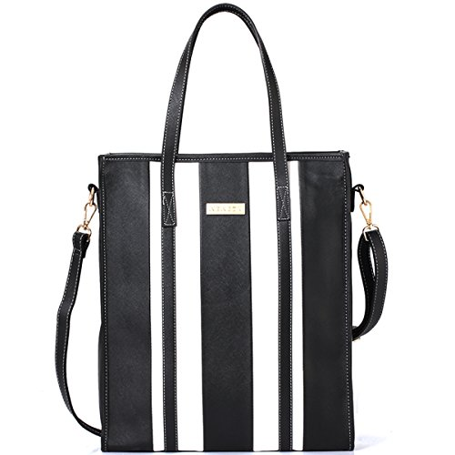 Laptop Handbags for Women - Leather Tote for Laptop,Travel, Work, Business, Office