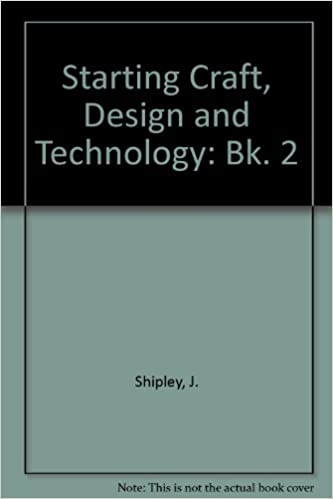 Starting Craft Design And Technology Bk 2 J Shipley