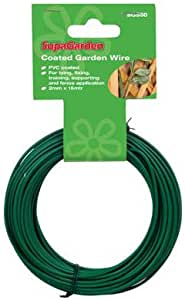 SupaGarden PVC Coated Wire 2mm x 15m