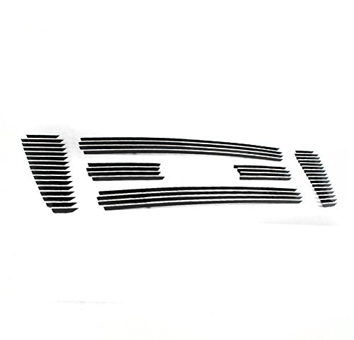 ZMAUTOPARTS Ford F150 F150 Pickup Main Upper Billet Grille Grill Insert 6Pcs