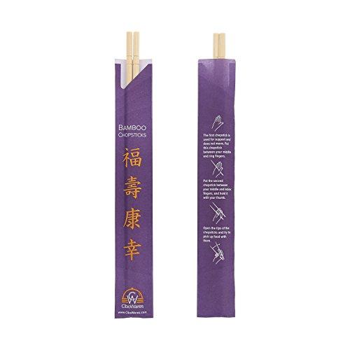 CiboWares 9'' Disposable Bamboo Chopsticks, Case of 1,000 by CiboWares (Image #3)