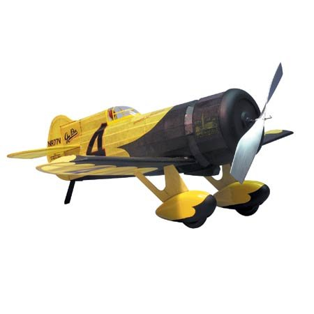 Gee Bee Z Racer Rubber Pwd Wooden Model Airplane by - Gee Airplane Bee