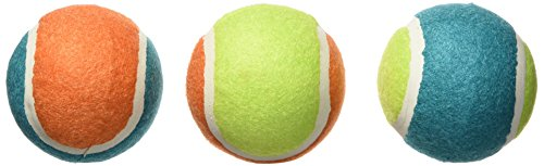 Boss Pet Chomper Colorful Tough Tennis Balls with Extra Thic