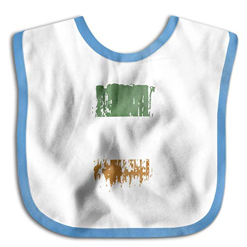 IE IRL Ireland Flag Blue Beautiful Baby Bandana Drool Bibs, Unisex Burp Cloths for Drooling and Teething, Baby Shower Gift Idea