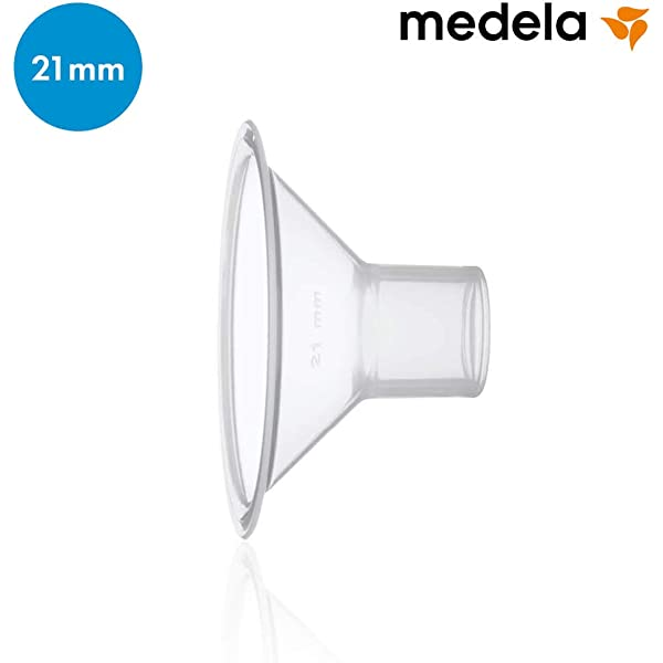 Medela 80332 - Embudo para sacaleches Medela, talla S (21 mm ...