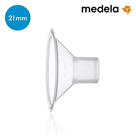 Medela 80332 - Embudo para sacaleches Medela, talla S (21 mm)