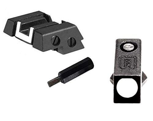 Country Surplus Supply Glock Kit - Front Steel Sight & Rear Adjustable with Tool