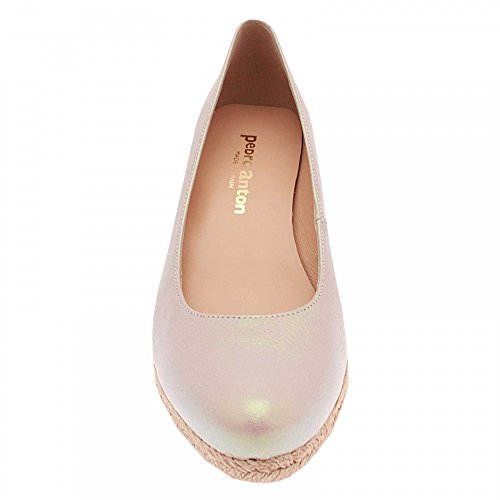Marian Low Wedge Closed Toe Shoe Nude