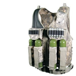 Ultimate Arms Gear Tactical Scenario ACU Army Digital Paintball Airsoft Battle Gear Tank-Armor Pod Vest by Ultimate Arms Gear