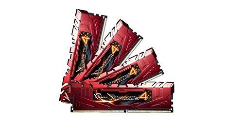 G.SKILL Ripjaws 4 Series 32GB (4 x 8GB) 288-Pin DDR4 SDRAM DDR4 2400 (PC4 19200) Desktop Memory Model F4-2400C15Q-32GRR ()