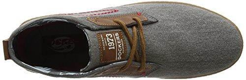 Zapatillas para Grau 706200 Gerli Hombre 38se001 by Gris Dockers 200 6W7xI6