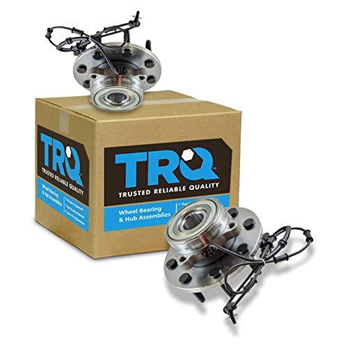 - TRQ Front Wheel Hub & Bearing Pair for Dodge Ram 1500 2500 3500 4x4 4WD
