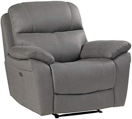Lexicon Ryan Reclining Chair, Grey