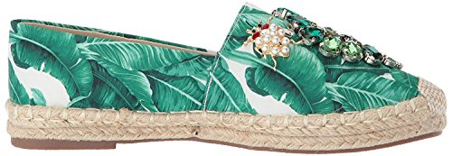 Floral Green Flats Closed Espadrille Toe Hailey Laundry Womens Chinese ncxW8Cg
