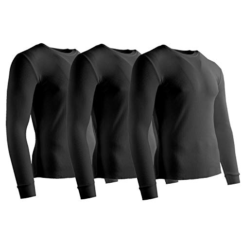 (Rich Cotton Thermal 180 (Black - 3 Pack, M) )