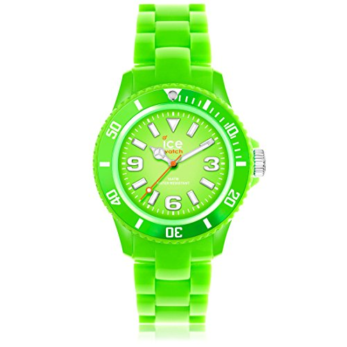 Ice-Watch Kids' Solid Lime Green Plastic Watch