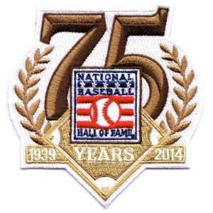 2014 National Baseball Hall Of Fame 75th Anniversary Patch (1939)