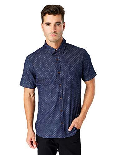 Cruise Control Short Sleeve Shirt (Large) Navy