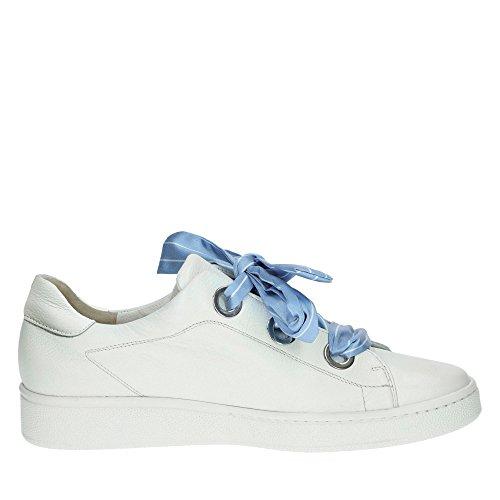 Paul Green 4575-002 Damen Modischer Sneaker Aus Weichem Glattleder Lederfutter Weiß