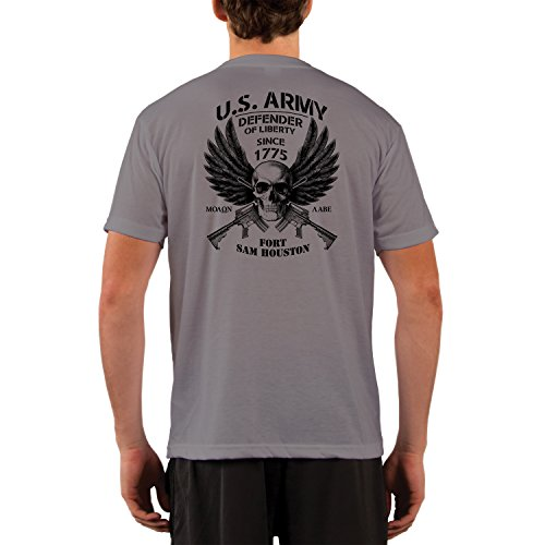 Dead Or Alive Clothing U.S. Army Fort Sam Houston Performance Short Sleeve Shirt Large - Houston Swim Gear
