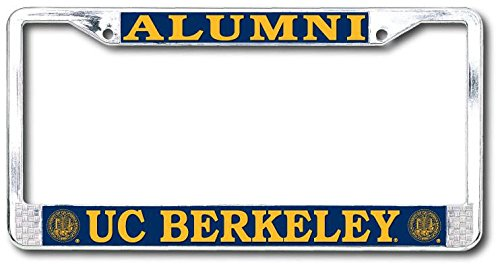 Strand Art UC Berkeley Alumni Chrome License Plate Frame