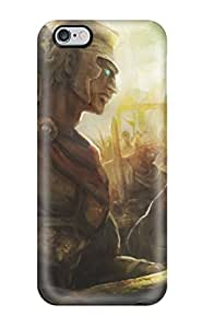 High-end Case Cover Protector For Iphone 6 Plus(dragons-crown Anime Action Rpg Fantasy Family Medieval Fighting Dragons Crown )
