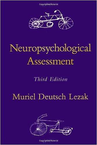 Neuropsychological Assessment 9780195090314 Medicine Health Science Books Amazon Com