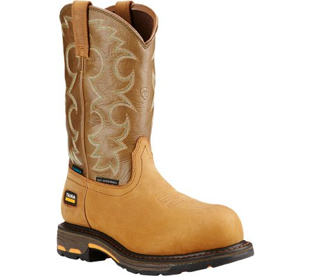 Ariat Women's Workhog H2O Composite Toe Work Boot B01D8XLNRE 10.5 C / Wide(Width)|Aged Bark Army Green