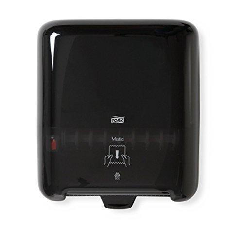 Tork 5510282 Elevation Matic Roll Towel Dispenser, Black Matic Roll Towel Dispensers