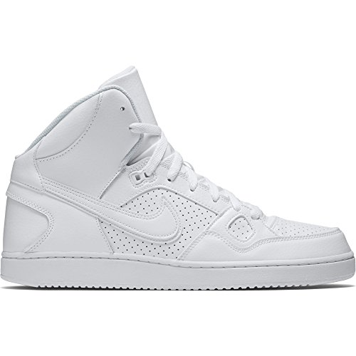 Nike Son Of Force Mid White White Mens Trainers