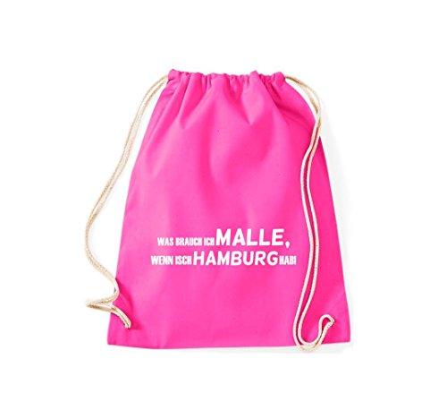 Turn Bolsa; Rompa Was Ich Malle, Si isch Hamburgo hab., negro, 46 rosa