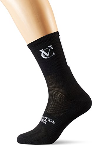 VeloChampion Speed Line Coolmax Cycling Socks - Pack of 3 Pairs (Black, UK...